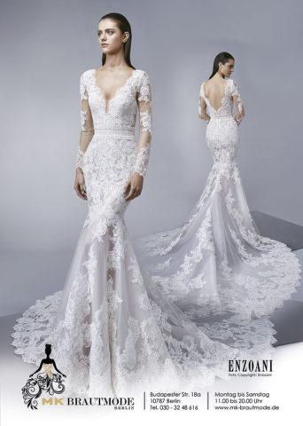 Wunderschönes Brautkleid bei MK Brautmoden