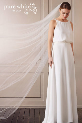Brautkleid von pure white by Lilly
