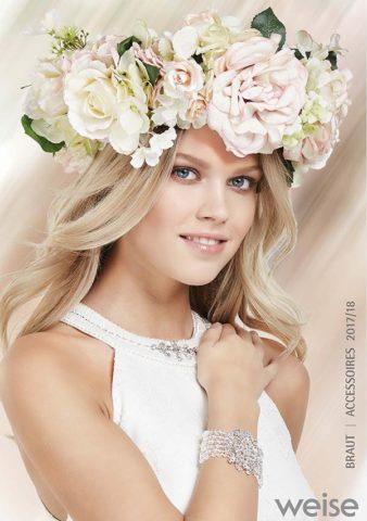 Brautkleid Berlin - Brautkleid von Weise mit Kopfschmuck