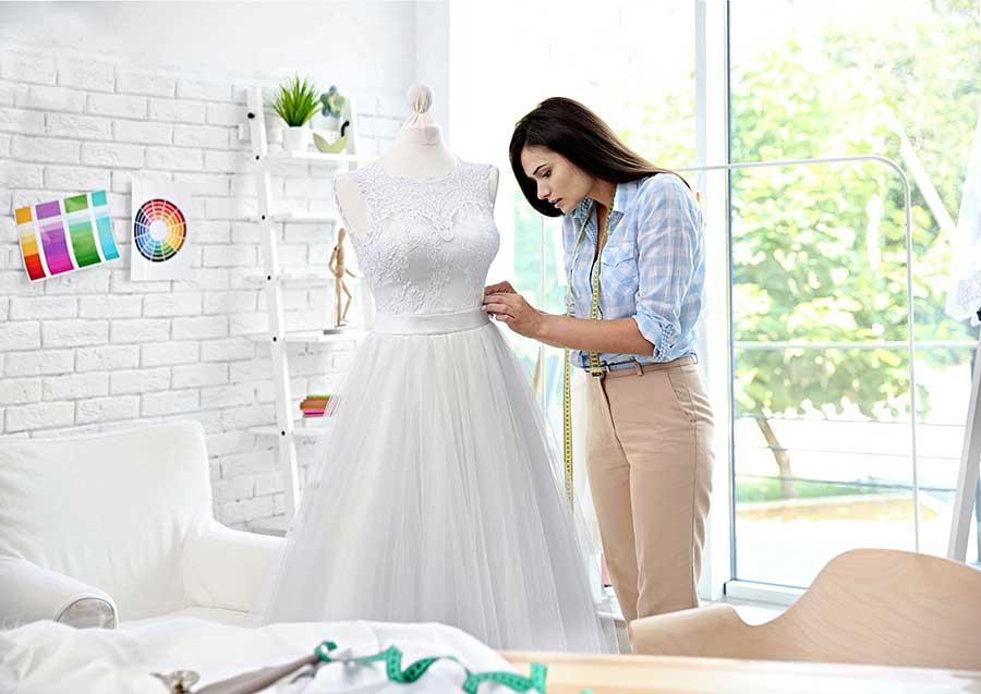 Maßgeschneidertes Brautkleid Berlin