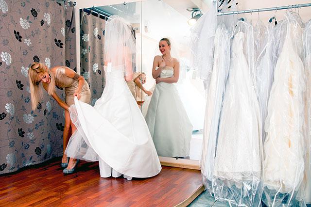 Brautkleidkauf