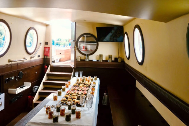 Catering auf dem Schiff - Ihre Hochzeit auf dem Schiff in Berlin