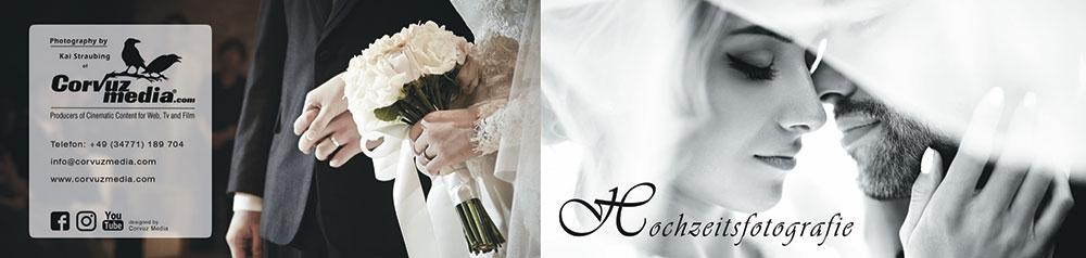 Ihr professionelles Hochzeitsvideo oder Hochzeitsfotos erhalten Sie von Corvuz-Media