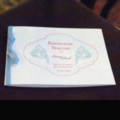 Hochzeitskarten von der Druckerei Leue in Berlin