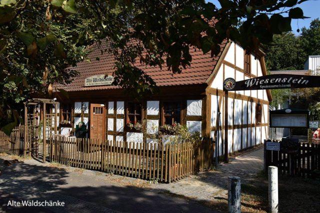 Hochzeit in der Alten Waldschänke von der Wiesenstein Speisemeisterei.