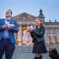 Hochzeitstauben Brandenburg und Berlin für Ihre Hochzeit