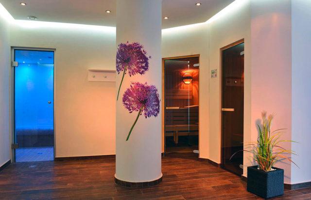 Wellnessbereich im Hotel Harzhaus