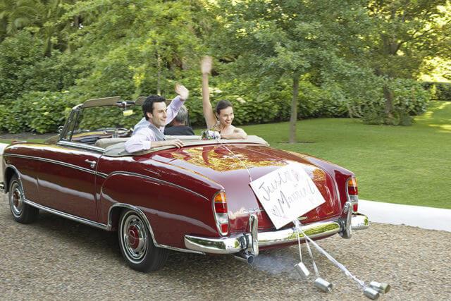 Ein Oldtimer für Ihre Hochzeit in Berlin, Potsdam und Brandenburg
