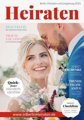 Magazin Heiraten in Berlin und Brandenburg 2021