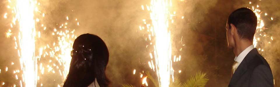 Feuerwerk für Ihre Hochzeit in Berlin, Potsdam und Umgebung