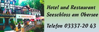 Heiraten im Hotel und Restaurant Seeschloss am Obersee