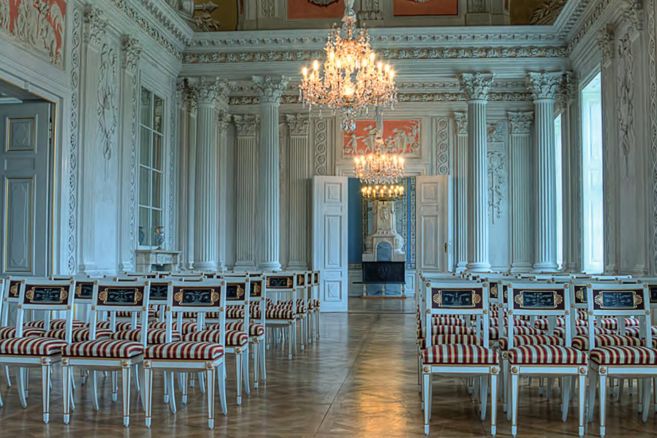 Heiraten im Schloss Friedrichsfelde
