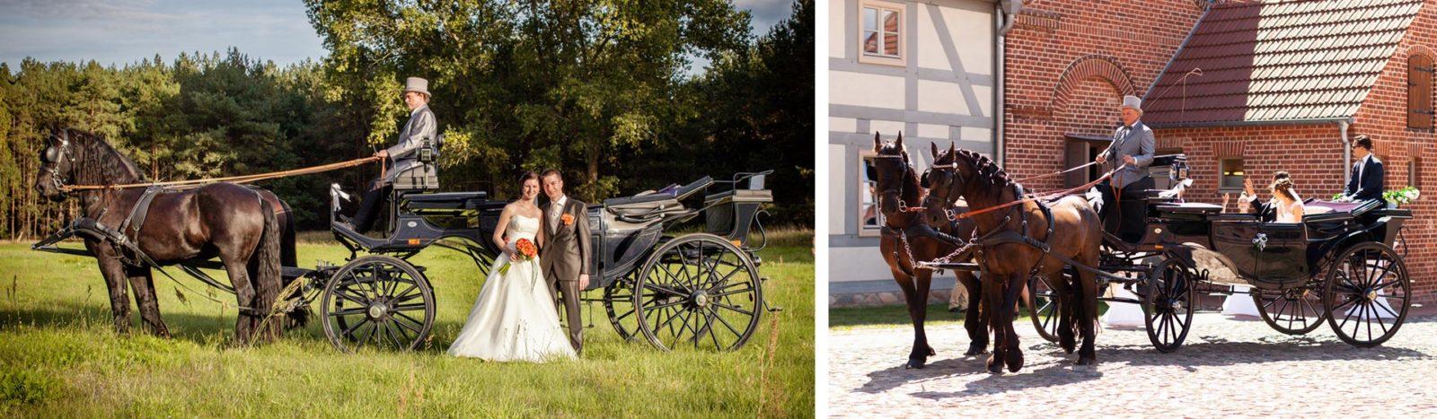 Hochzeitskutschfahrten in Berlin und Brandenburg