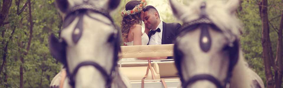 Hochzeitskutsche in Berlin, Potsdam und Umgebung