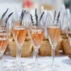 Sektempfang zur Hochzeit
